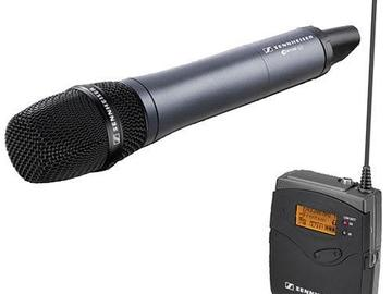 Rent: Sennheiser SKM100 (Wireless Combo w/ G3 Receiver)
