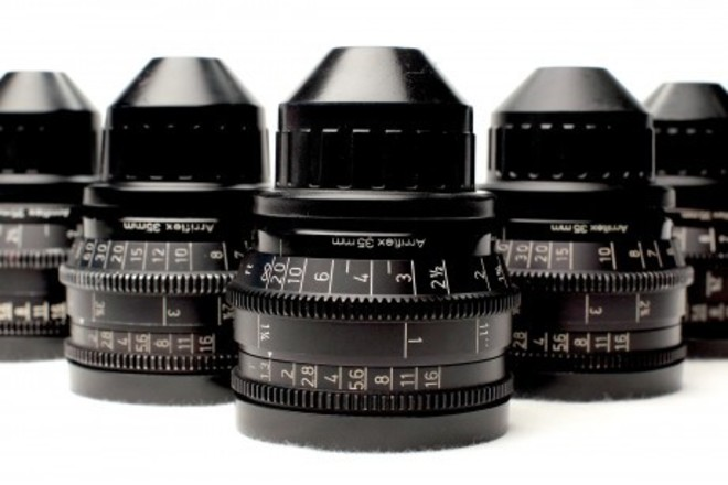 Zeiss Super Speed Prime lenses Arri PL Mount