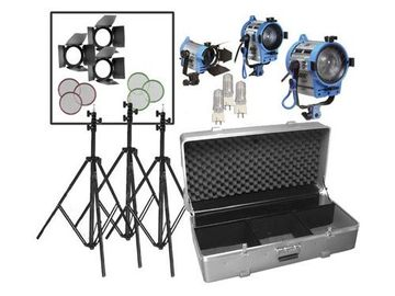 Rent: Arri Fresnel 3-Light Kit
