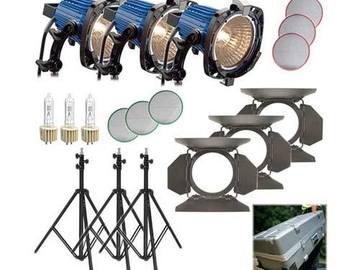 Rent: Arrilite 575W+ 3-Light Kit