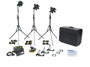 Rent: Dedolight 3-Light Kit