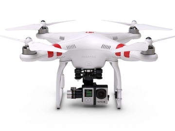 Rent: DJI Phantom 2 w/ Gimbal, GoPro, FPV and OPERATOR
