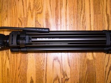 Rent: Magnus VT-4000 Tripod System with Fluid Head