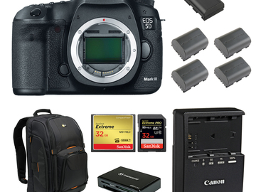 Rent: Canon 5D Mark III (w/ Batteries, Cards, Reader)