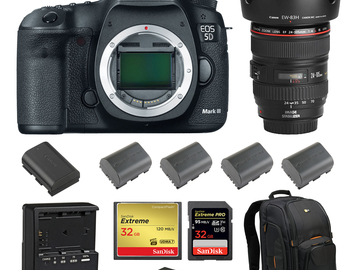 Rent: Canon 5D Mark III (w/ 24-105 Lens, Batteries, Reader)