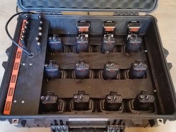 (12) Motorola Production Radios
