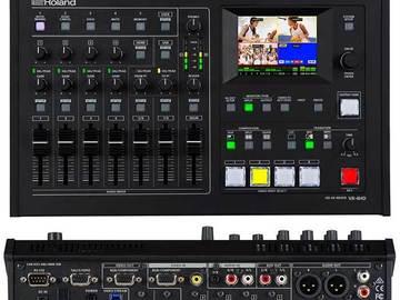 Rent: Live Broadcast Rig- Roland VR-4HD - Blackmagic Web Presenter