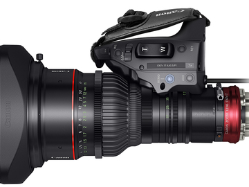 Rent: Canon 17-120 T2.9 - PL with power AC cord for drive unit