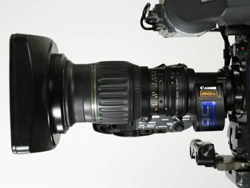 Rent: Canon HJ11 ex4.78 HD Zoom Lens Kit