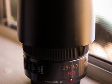 Rent: Panasonic Lumix G X Vario 35-100mm f/2.8 ASPH. POWER O.I.S.