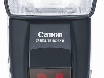 Rent: Canon Speedlite 580 EX II