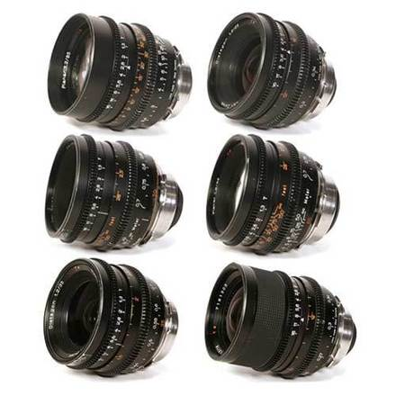 Zeiss Superspeed MKII 6x Lens Set