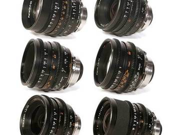 Rent: Zeiss Superspeed MKII 6x Lens Set