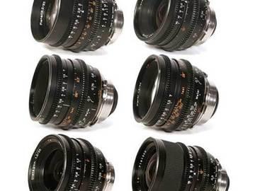 Zeiss Superspeed MKII 6x Lens Set