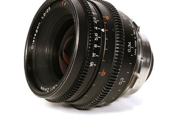 Rent: Zeiss Superspeed MKII 25mm T1.3