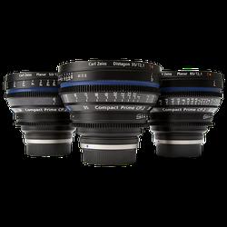 ZEISS Compact Prime EF Mount Set