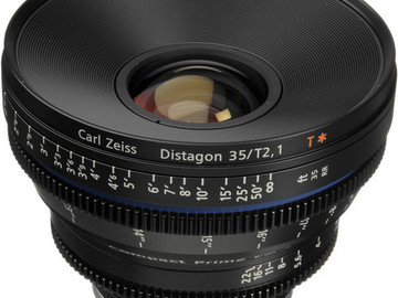 Rent: Zeiss Compact Prime CP.2 35mm/T2.1 Cine Lens (EF Mount)