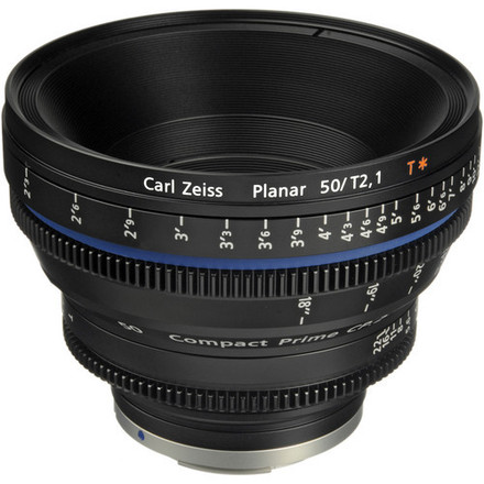 Zeiss Compact Prime CP.2 50mm/T2.1 Cine Lens (EF Mount)