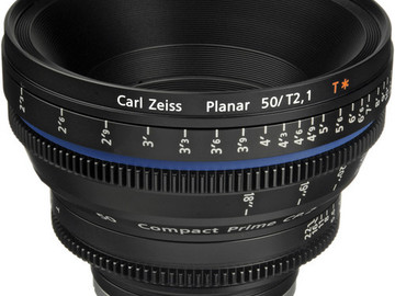 Rent: Zeiss Compact Prime CP.2 50mm/T2.1 Cine Lens (EF Mount)
