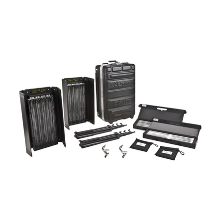 Kino Flo Diva-Lite 415 Universal 2-Light Kit w Flight Case