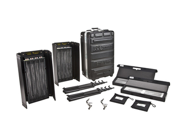 Rent: Kino Flo Diva-Lite 415 Universal 2-Light Kit w Flight Case