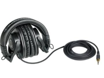 Rent: Audio-Technica ATH-M30x Studio Monitor Headphones