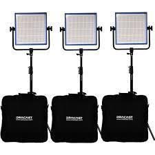 Dracast 1000 LED Plus Bi-color 3 light kit (2900-6500k)