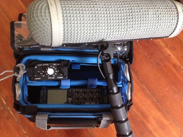 Rent: Zoom F8, Sound Devices Preamp, MKH416, 9ft Pole, Headphones