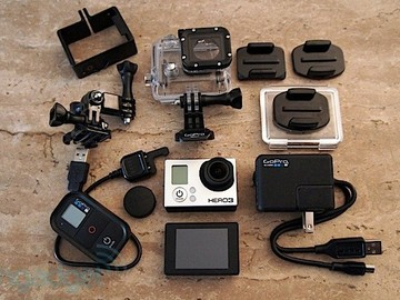 Rent: GoPro HERO 3 Black edition with LCD and Remote