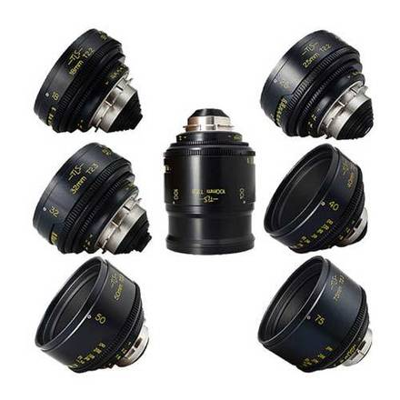 Cooke Speed Panchro 7x Lens Set