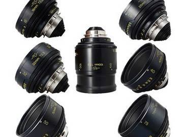 Cooke Speed Panchro 7x Lens Set