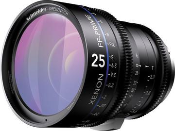 Rent: Schneider Xenon FF 25mm T2.1 Lens (EF Mount, Feet)
