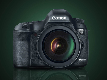 Canon EOS 5D Mark III DSLR with  Tamron 24-70