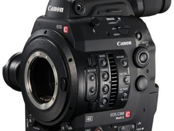 Rent: C300 MKII Docu Package