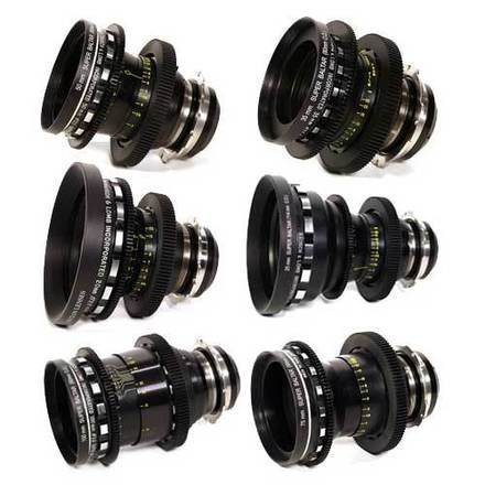 Bausch & Lomb Super Baltar 6x Lens Set
