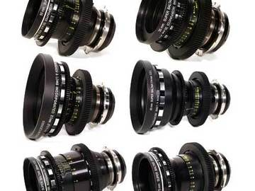 Rent: Bausch & Lomb Super Baltar 6x Lens Set