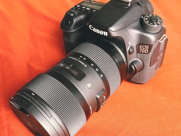 Rent: Canon 70D + 18-35mm f/1.8 Sigma Art Lens