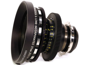 Rent: Bausch & Lomb Super Baltar 20mm T2.3
