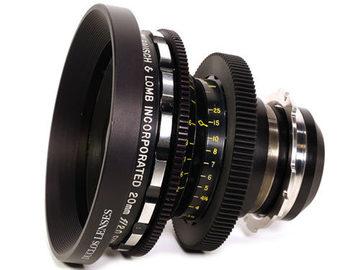 Rent: Bausch & Lomb Super Baltar 20mm T2.3