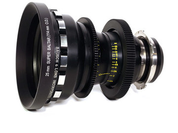 Rent: Bausch & Lomb Super Baltar 25mm T2.3