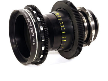 Rent: Bausch & Lomb Super Baltar 75mm T2.3