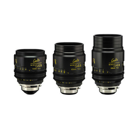 Cooke Mini S4/i 3x Lens Set
