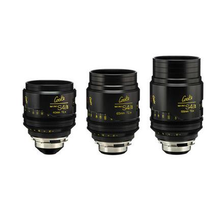 Cooke Mini S4/i 3x Lens Set