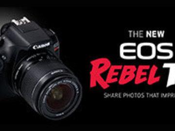 Rent: canon eos rebel t6
