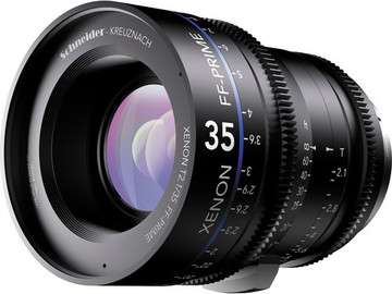 Rent: Schneider Xenon FF 35mm T2.1 Lens with Canon EF Mount (Feet)