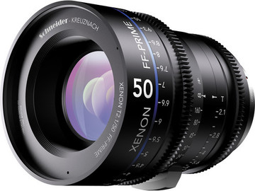 Rent: Schneider Xenon FF 50mm T2.1 Lens with Canon EF Mount (Feet)
