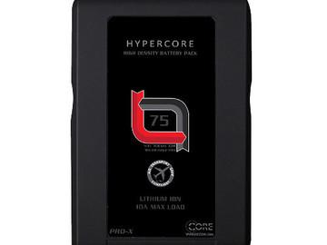Rent: (2x) HyperCore Slim RED V-Mount Batter + Charger Kit