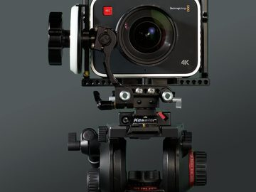 Rent: Blackmagic 4K Production Cinema Camera body w/ Wooden Camera