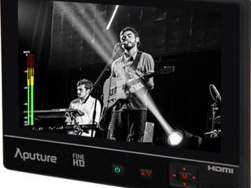 "Rent: Aputure VS-2 FineHD 7"" Monitor w/2 Sony NP-F770 Batteries"