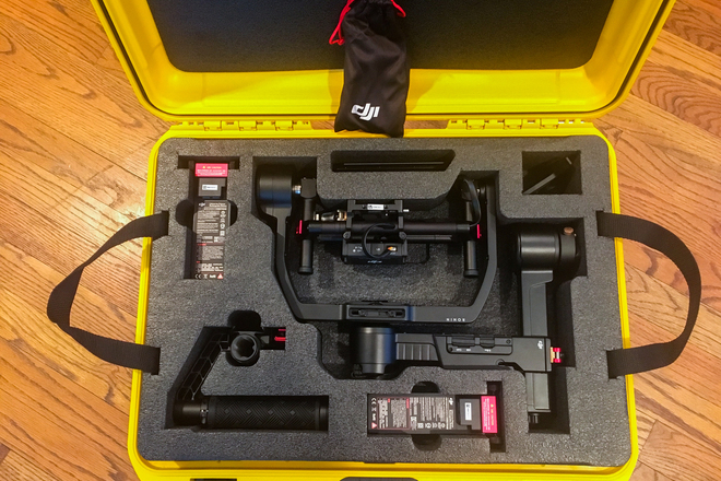 DJI Ronin M (2 Batteries and Hard Case)